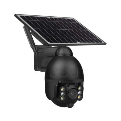 Nepelemes, akkus 4G-S, Motoros WIFI-s Kültéri megfigyelő kamera E-cam Ptz 588-wifi