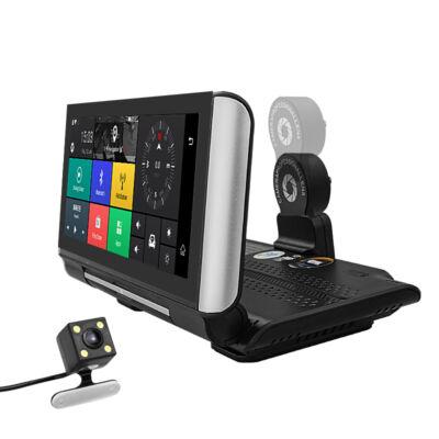AJÁNDÉK 16GB SD KÁRTYA! E-cam M88 fedélzeti egység, navigációval, kamerával, nyomkövetéssel M88