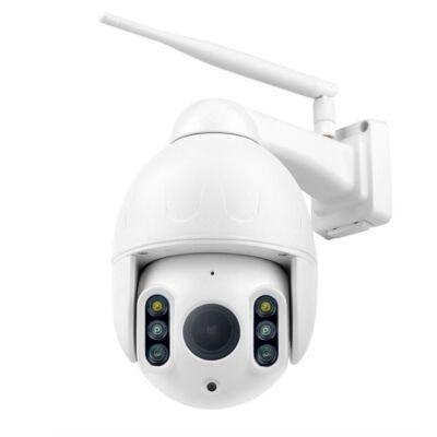 E-cam SMD6830F-WR Motors Kültéri FULL HD  WIFI-s megfigyelő kamera 4x zoom
