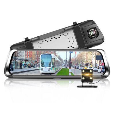 e-CAM m700 Tükörbe integrált dupla Autós kamera