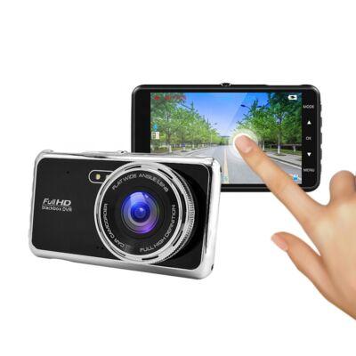 e-CAM T500 Érintőképernyős Duál Autós kamera